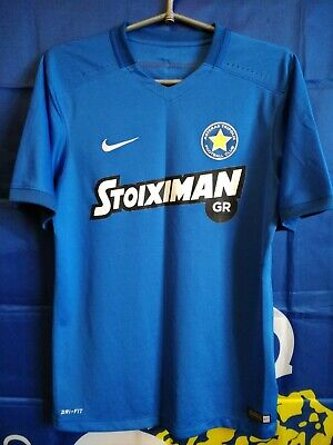 SIZE S Asteras Tripolis Greece 2015-2016-2017 Player Issue Football Shirt Jersey image