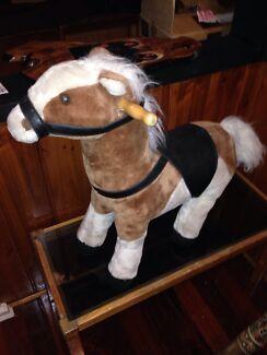 Horse velvet n leather