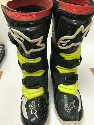 ALPINE STARS YOUTH MX BOOTS TECH6'S US 6 / UK 5 / EURO 39 (C16) Alpinestars Tech 6s Youth Boots