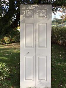 Portes pliantes pour garde-robe