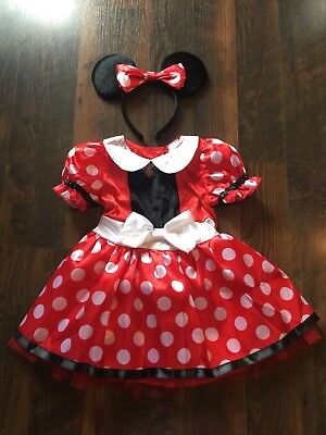 Size 3-4 girls TODDLER MINNIE MOUSE HALLOWEEN COSTUME by BAMBIN