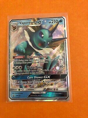 Pokemon Card: Vaporeon GX SM172 from Elemental Powers Tin