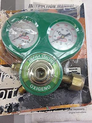 Infra Smith Series Sh-1700 Oxygen Regulator Gauge Missing Handle