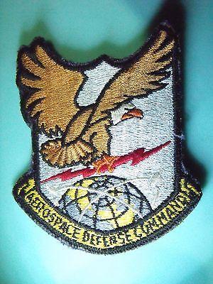 Aerospace Defense Command Original Usaf United States Air Force Velcro Patch