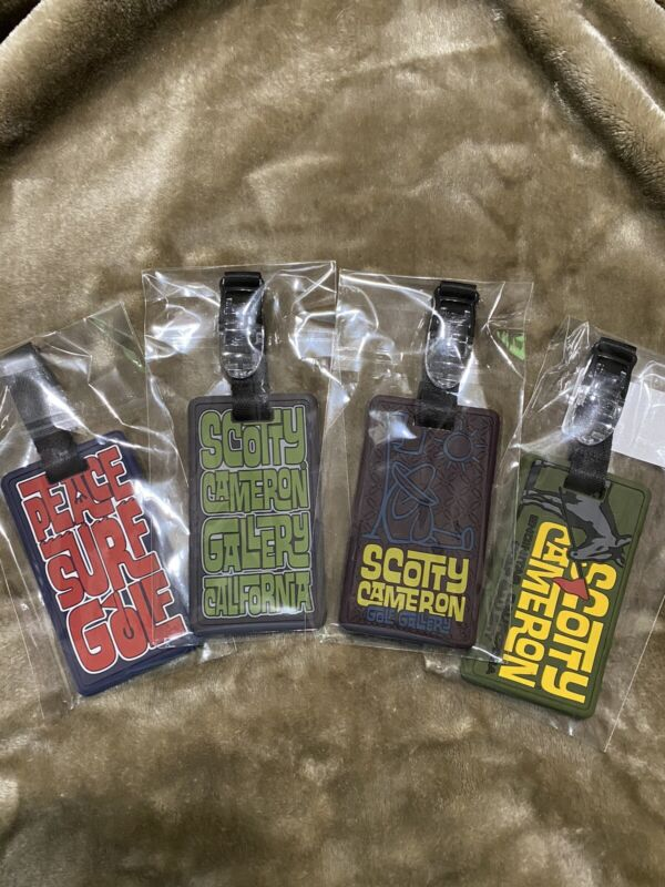 scotty cameron putter headcover leash Price Includes 4 Leashes Gallery Release