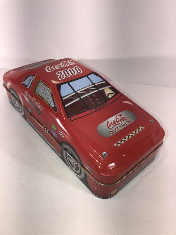 """Coca Cola """"Coke"""" Race Car Tin #86 nascar"""