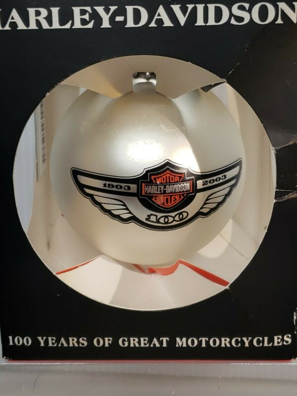 Harley Davidson 100th Anniversary Christmas Ornament (RARE)