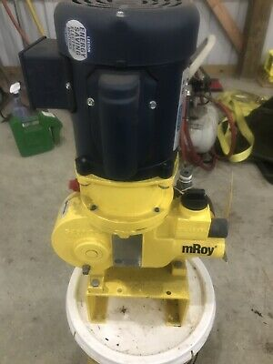 Milton Roy Mroy Simplex Metering Pump Ra121724frsesem2nb