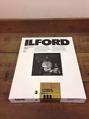 Ilford Gallery Matt Grade 3 8x10 100 sheets