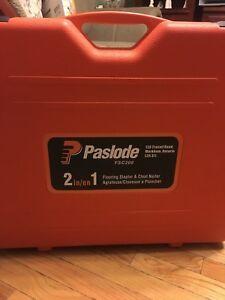 Paslode FSC200 - 2 in 1 flooring stapler & cleat nailer $450