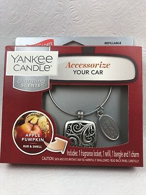 Yankee Candle Charming Scents Square Starter Kit Apple Pumpkin Fragrance Locket Candle Starter Kit Fragrance