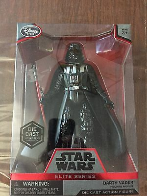 Disney Store! Star Wars: Darth Vader. Elite Series Die Cast Figure