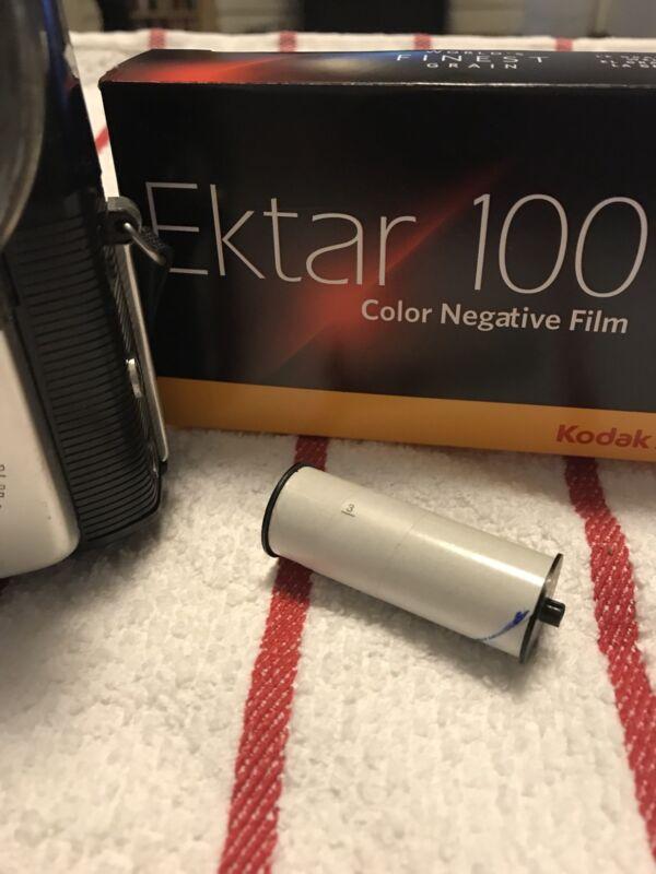 127 film,New Freshly cut Kodak Ektar 100