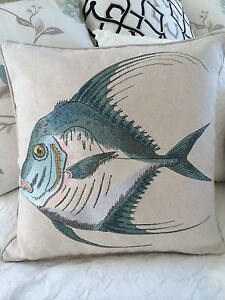 Coastal Style Marine Fish Cushion Covers Kingsholme Gold Coast North Preview