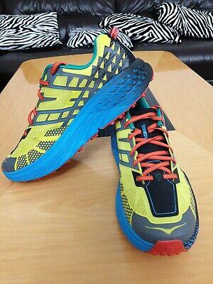 HOKA ONE ONE (SPEEDGOAT 2) MENS LIGHTWEIGHT RUNNING TRAINERS- UK 10-WORN ONCE!