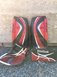 Reebok Trapper and blocker