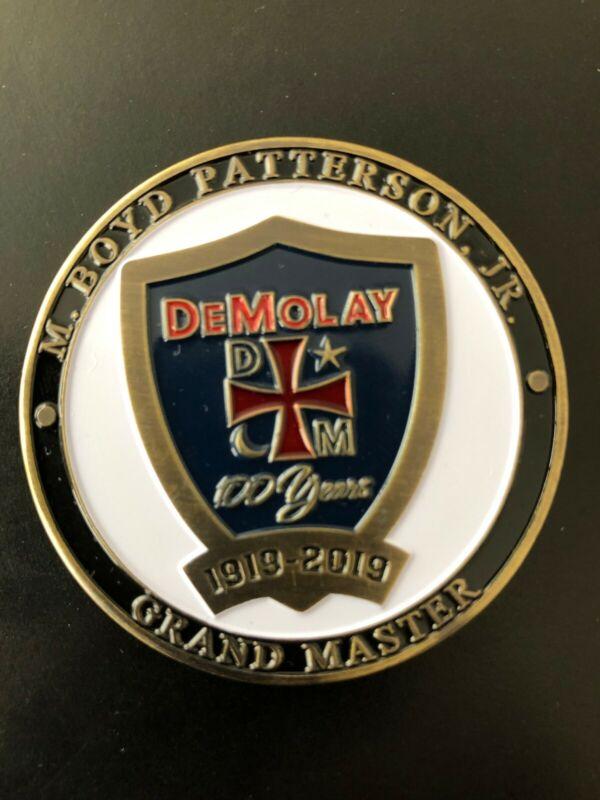 DeMolay International Centennial Coin