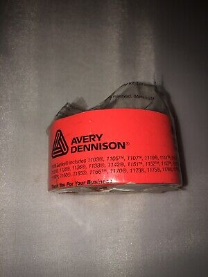 Avery Dennison Monarch 1100 Series Price Labels Pack Of 2 Rolls Orange Wink