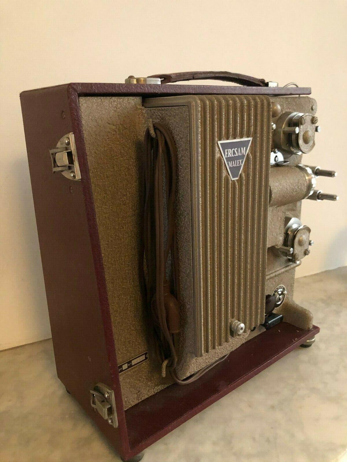 Video projecteur ercsam malex 8m/m - 1953 - paris france