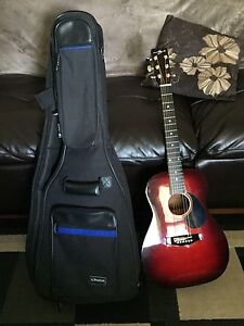 Jay Jr 3/4 acoustic guitar with case