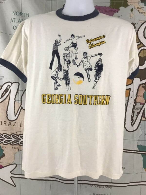 Vintage Georgia Southern College Intramural Champs Eagles Sz Large(see details)