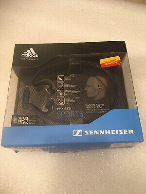 Sennheiser PMX 685i Adidas Sports Wrap Around Headphones New Sealed Damaged Box