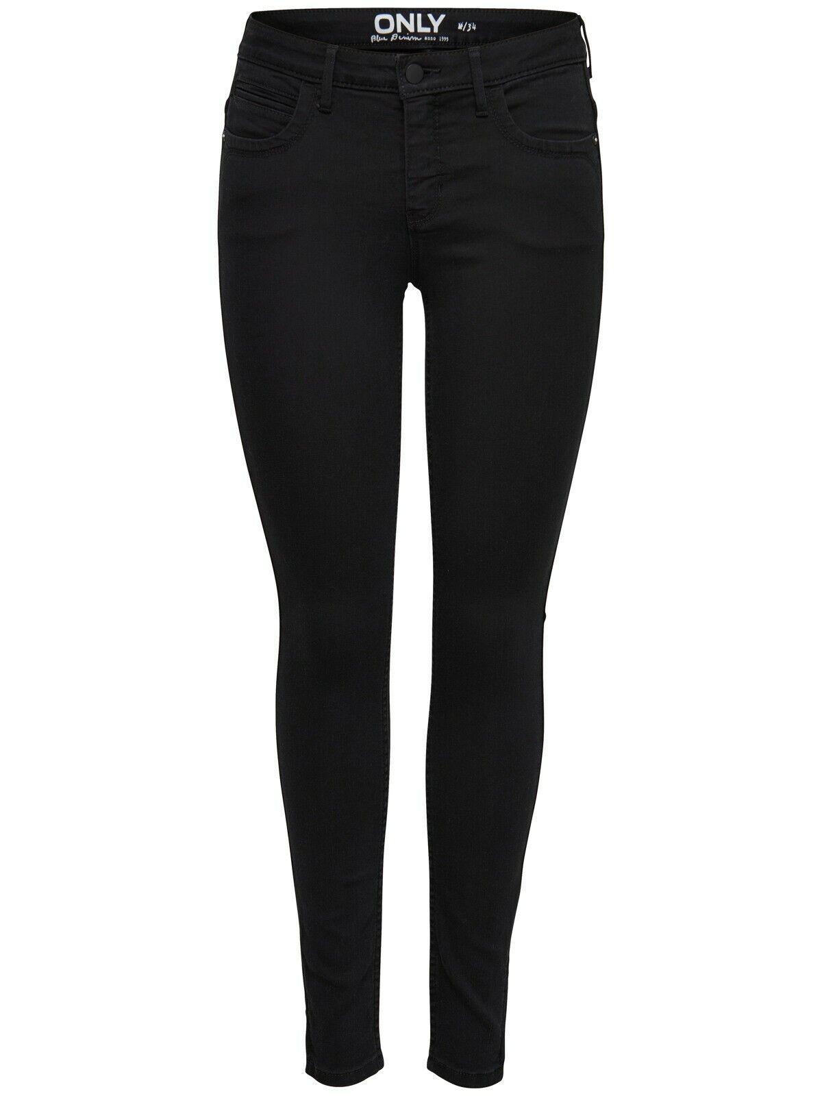 Only Damen Jeans Damenhose Kendell Knöchellang Reißverschluss Knöchel Slim-Fit