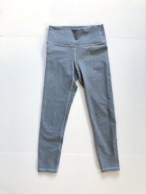 Fabletics Leggings XXS High Waist 7/8 Length Gray