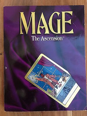 Mage: The Ascension rulebook (White Wolf 1993)