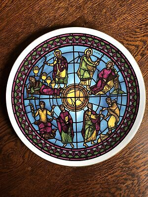 Stained Glass Window Plate
