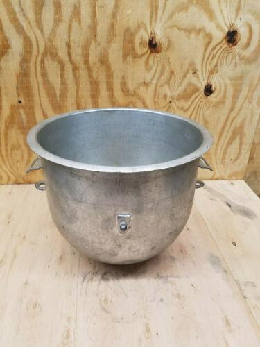 HOBART A200-20, 20 quart galvanized mixer bowl