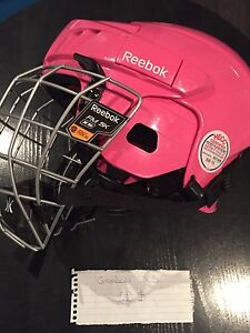 Casque de hockey fille