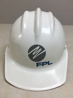 Vintage Bullard Hard Hat Hard Boiled Model 3000 Fpl Florida Power Light Fpl