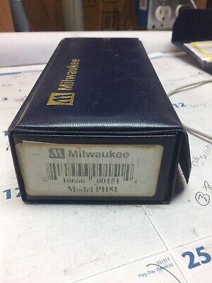 Milwaukee Ph51 Waterproof Ph Tester - Meter Sharp Ph 51 C8