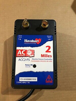 Havahart Two Mile Electric Fence Controller Ac Powered 2 Miles Acc2-fs