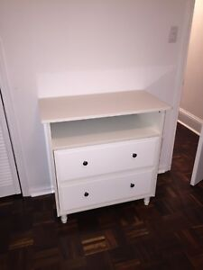 Kids dresser with removable baby changing top