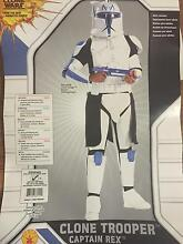 Star Wars Clone Trooper Costume Captain Rex (As New) Macquarie Fields Campbelltown Area Preview