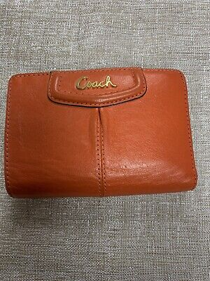 womens coach wallet preowned