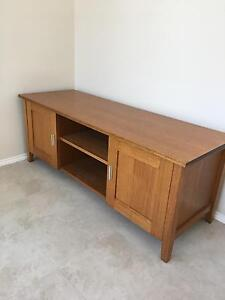 Solid wood entertainment unit, coffee table and side table Brighton East Bayside Area Preview