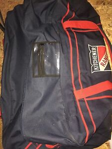 Kitchener ranger hockey bag