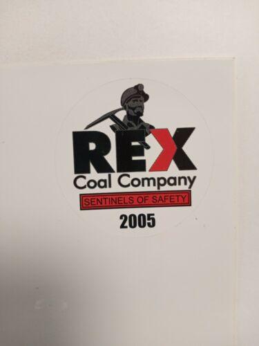 NICE REX COAL COMPANY COAL MINING STICKER