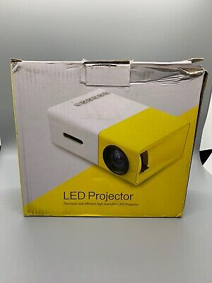 Mini Video Projector - XINKSD YG300 Portable Full Color LED LCD Video Projector