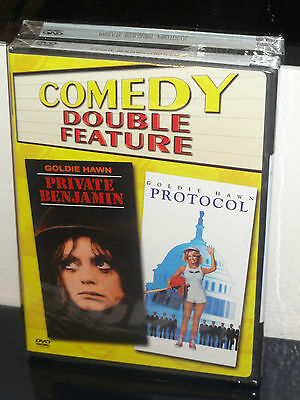 Private Benjamin   Protocol  Dvd  Howard Zieff  Herbert Ross  Goldie Hawn  New