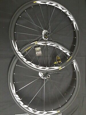 New 2018 Mavic Cosmic Elite Road Bike Clincher Wheelset 700c F/&R Wheels
