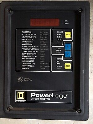 Square D Power Logic Circuit Monitor W Power Supply