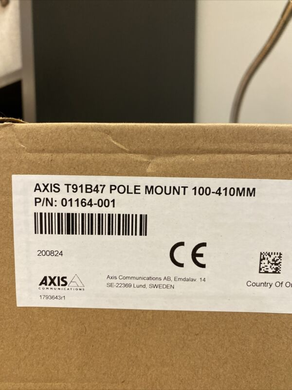 Axis T91B47 Pole Mount 50-150MM 01165-001 New