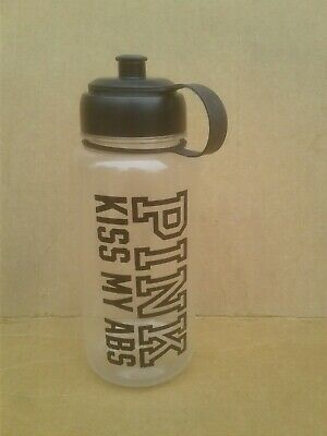 a6feef4e1a Victoria's Secret PINK Kiss my Abs FITNESS WATER Bottle FREE SHIPPING VG