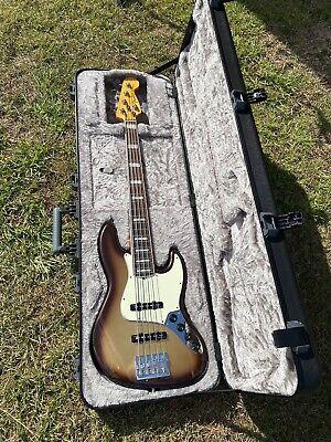 Fender American Jazz Ultra 5 String Bass Guitar