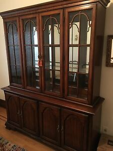 Solid wood cabinet buffet