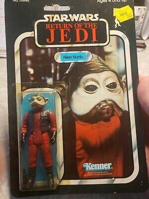 Vintage Star Wars ROTJ Nien Nunb 1983 65-Back